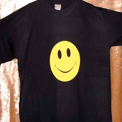T SHIRT Smile Face