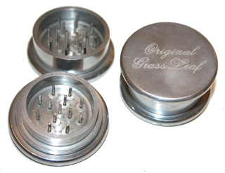 Metal herb grinder - Click Image to Close