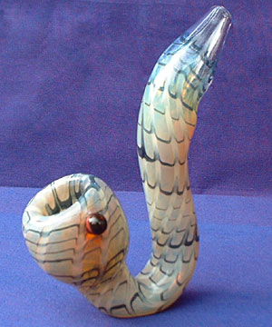 Calico Glass Pipe