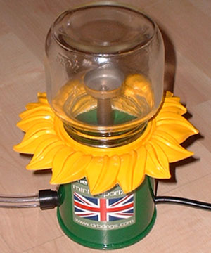 The Sunflower Vaporizer / UK plug type