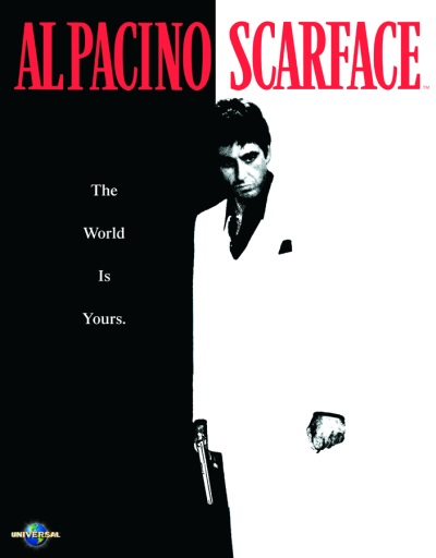 Scarface Metal Sign